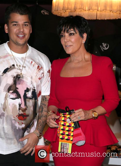 Rob Kardashian and Kris Jenner 17