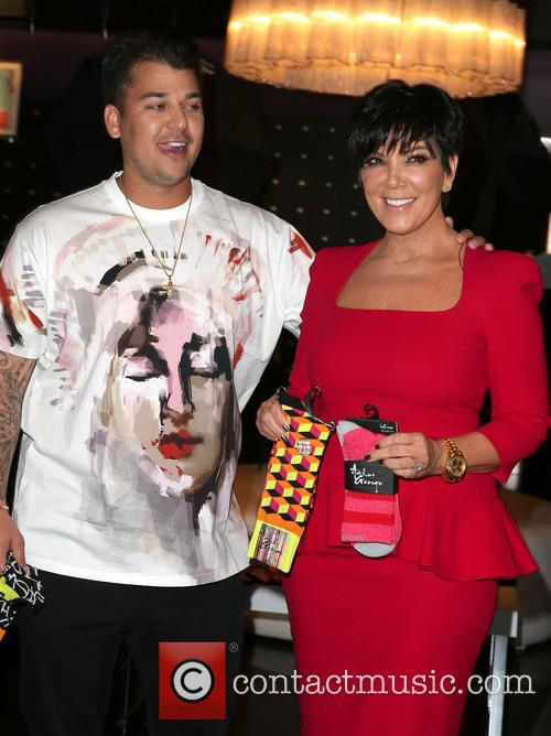 Rob Kardashian and Kris Jenner 19