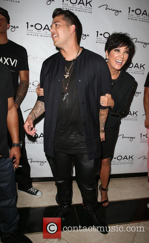 Rob Kardashian and Kris Jenner 4