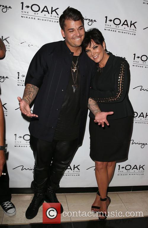 Rob Kardashian and Kris Jenner 11