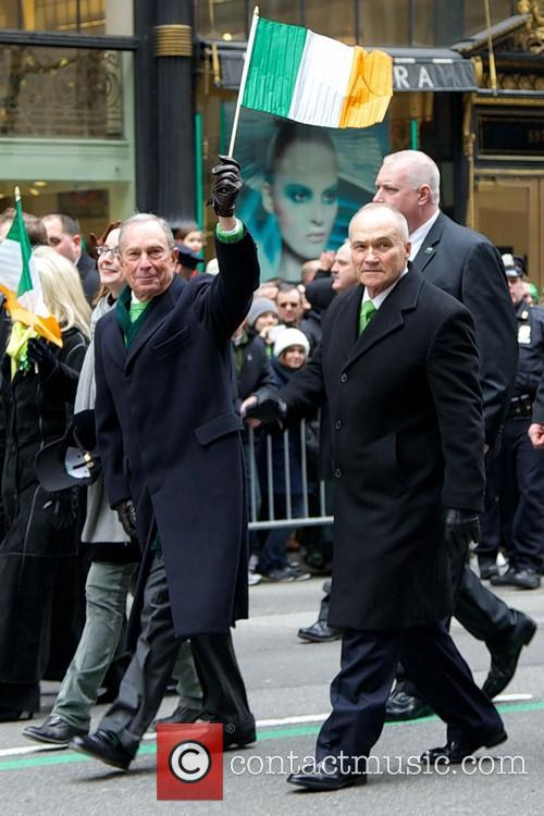 Mayor Michael Bloomberg and Police Commisioner Ray Kelly 3