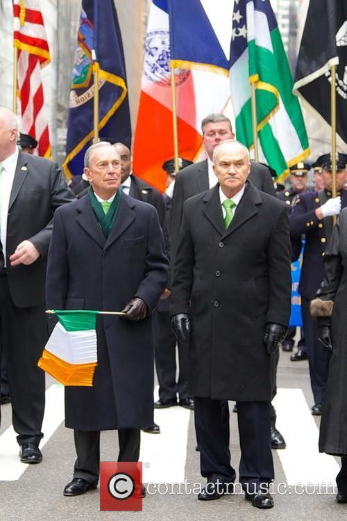 Mayor Michael Bloomberg and Police Commisioner Ray Kelly 4
