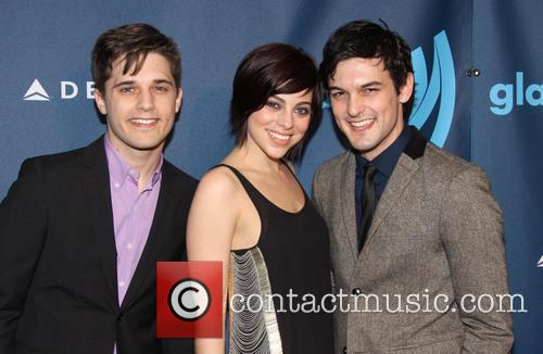 Andy Mientus, Krysta Rodriguez and Wesley Taylor 5