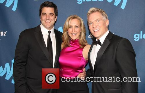 Josh Elliott, Lara Spencer and Sam Champion 8