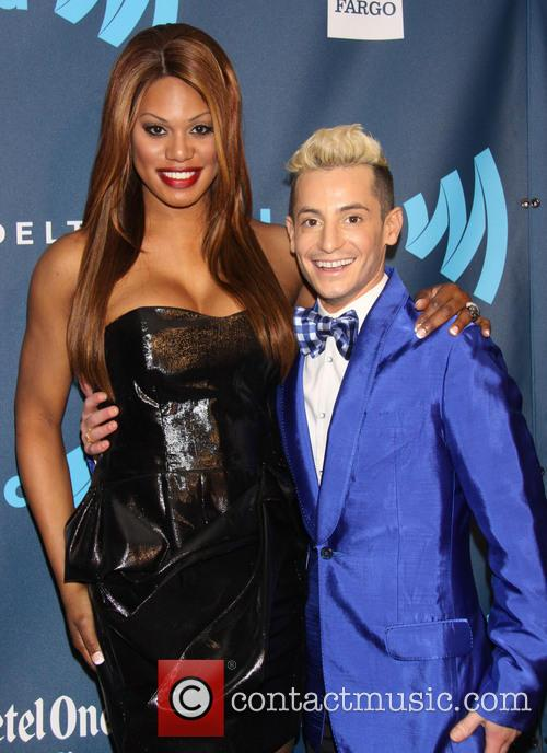Laverne Cox and Frankie James Grande 2