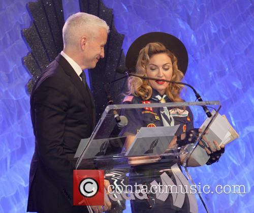 Anderson Cooper and Madonna 3