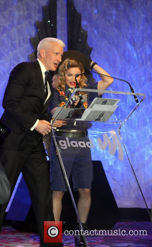 Anderson Cooper and Madonna 4
