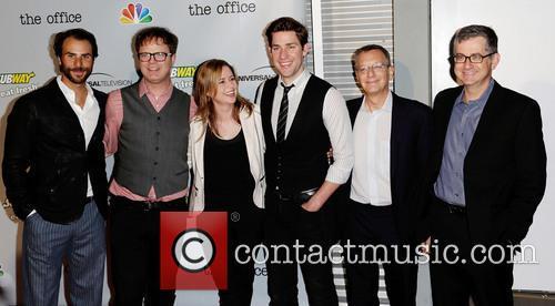 Ben Silverman, Rainn Wilson, Jenna Fischer, John Krasinksi and Guests 2