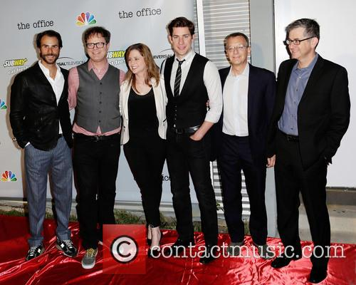 Ben Silverman, Rainn Wilson, Jenna Fischer, John Krasinksi and Guests 1