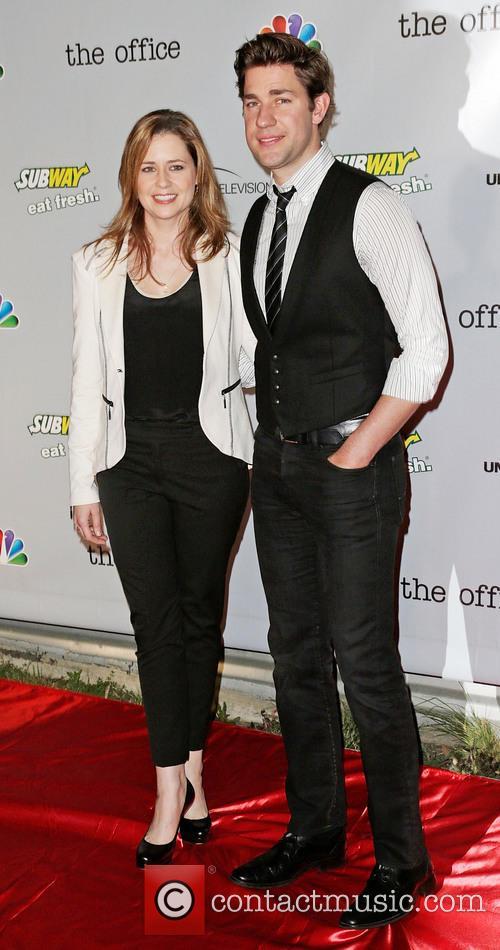 Jenna Fischer and John Krasinksi 4