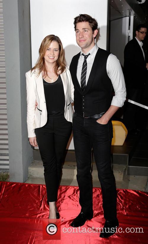 Jenna Fischer and John Krasinksi 5
