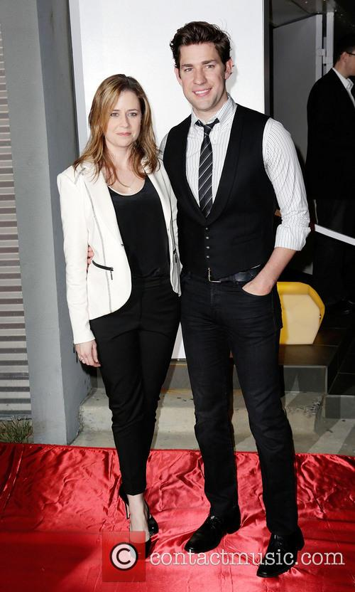 Jenna Fischer and John Krasinksi 9
