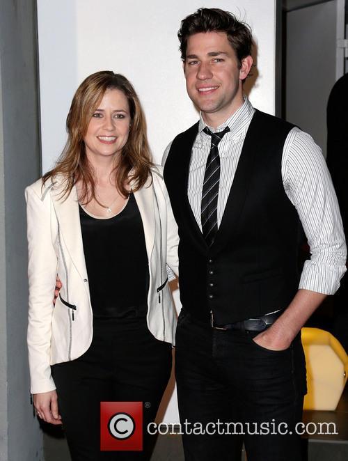 Jenna Fischer and John Krasinksi 10