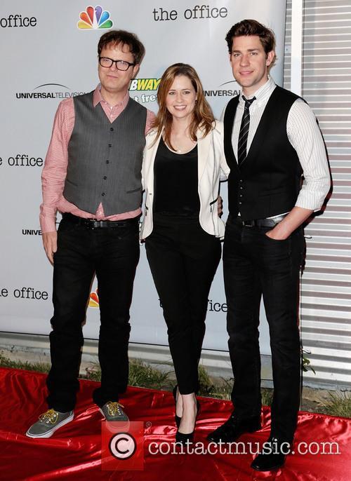 Rainn Wilson, Jenna Fischer and John Krasinksi 3