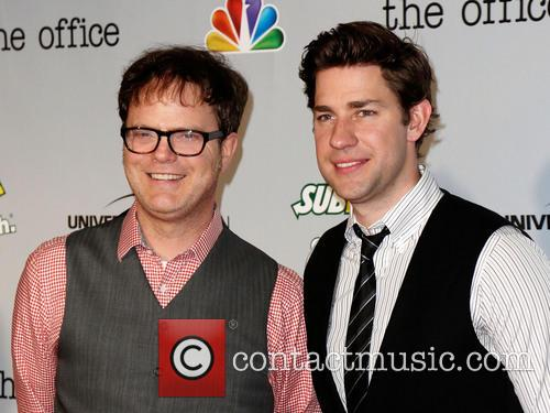 Rainn Wilson and John Krasinksi 3
