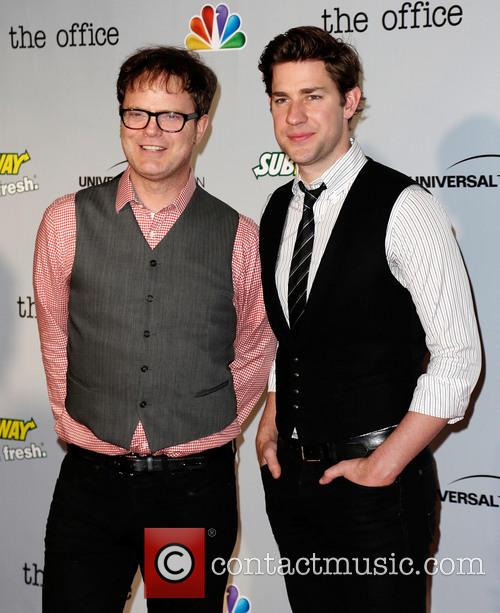 Rainn Wilson and John Krasinksi 1