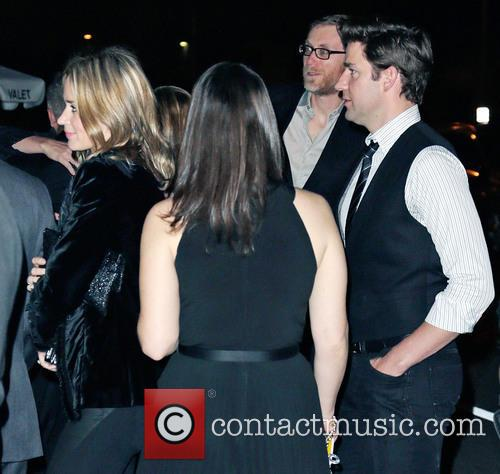Stephen Merchant, Emily Blunt and John Krasinksi 2