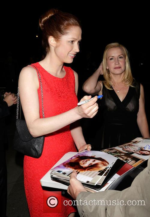 Ellie Kemper and Angela Kinsey 1