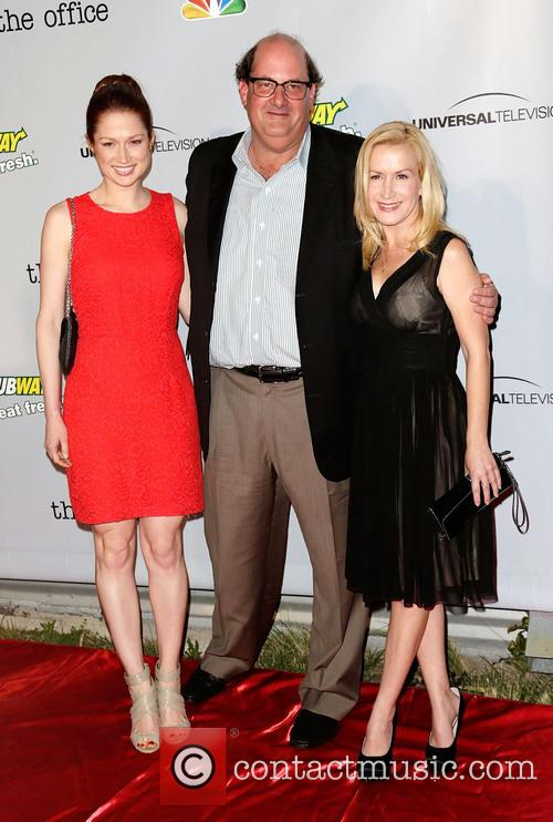 Ellie Kemper, Brian Baumgartner and Angela Kinsey 3