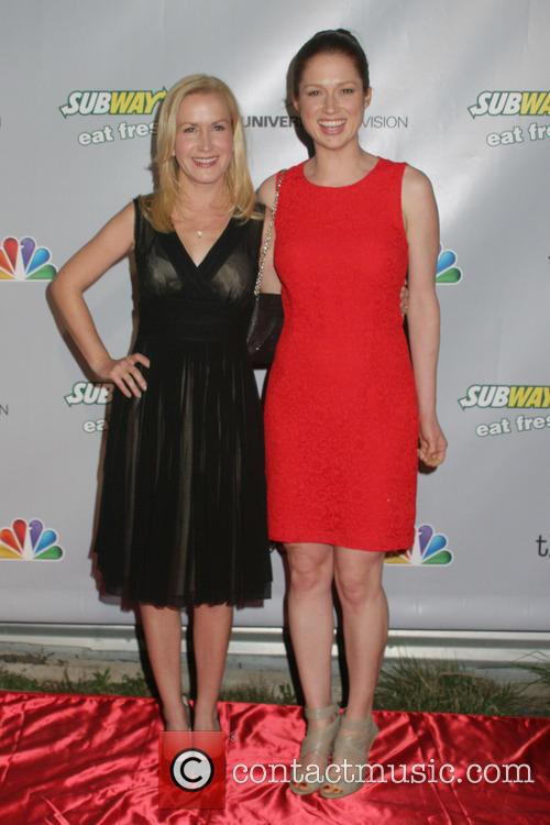 Angela Kinsey and Ellie Kemper 7