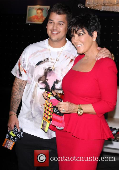 Rob Kardashian and Kris Jenner 22