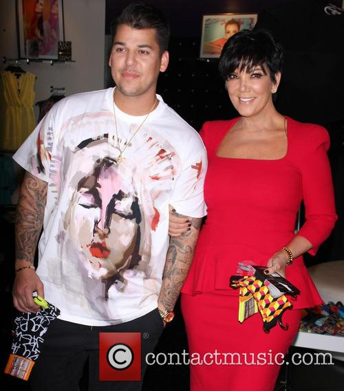 Rob Kardashian and Kris Jenner 1