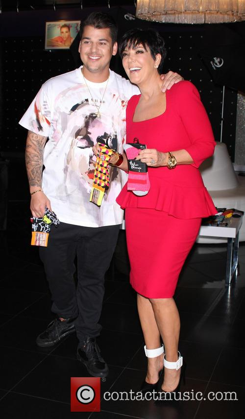 Rob Kardashian and Kris Jenner 23
