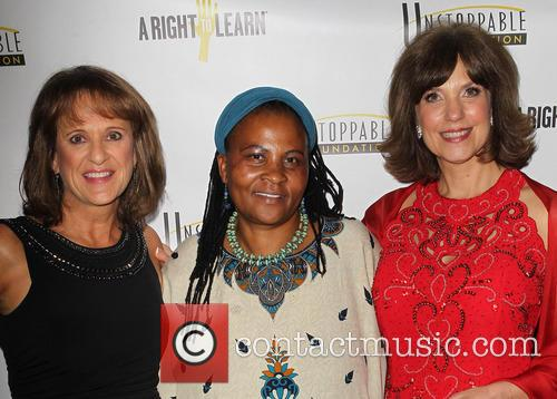 Tererai Trent, Cynthia Kersey and Guest 3