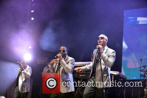 New Edition performs at the 8th Annual Jazz...
