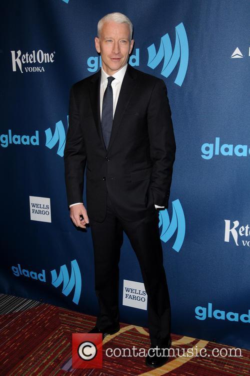 Anderson Cooper, New York Marriott Marquis