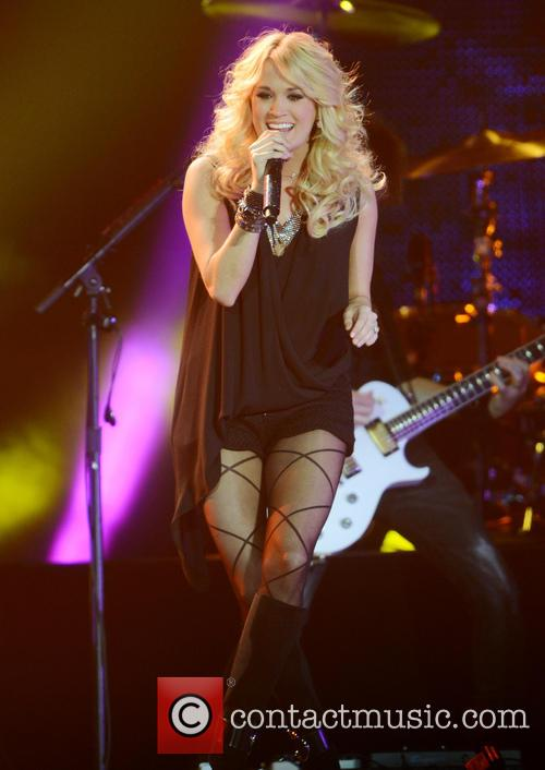 Carrie Underwood performs live at 'C2C: Country to Country'