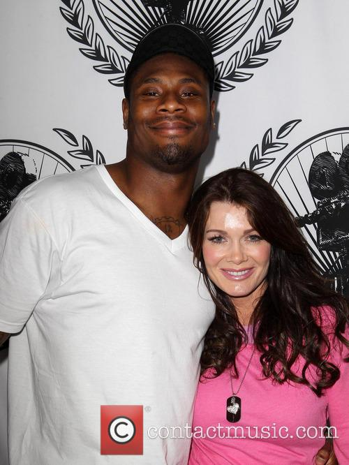 Jacoby Jones and Lisa Vanderpump 2