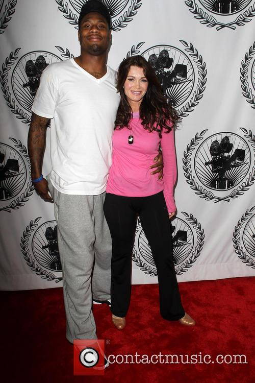 Jacoby Jones and Lisa Vanderpump 3