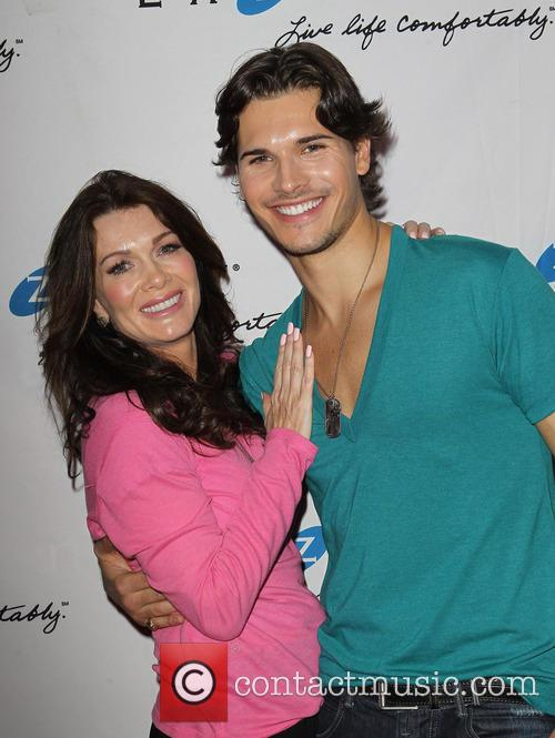 Lisa Vanderpump and Gleb Savchenko 1