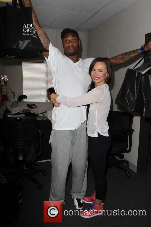 Jacoby Jones and Karina Smirnoff 5