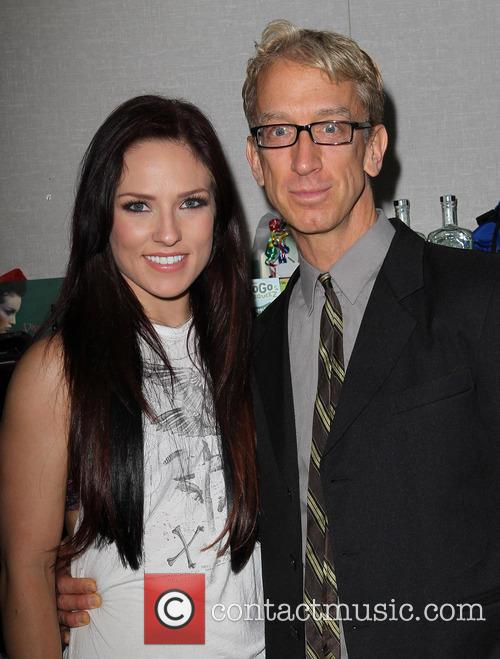 Sharna Burgess and Andy Dick 2