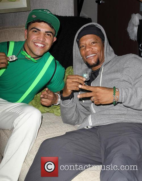 Victor Ortiz and D.L Hughley 3