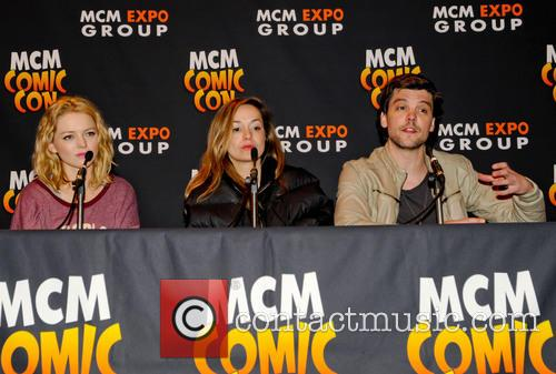 Hannah Spearritt, Lucy Brown and Andrew Lee Potts