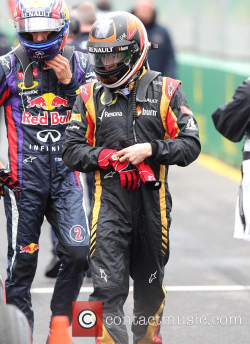 Kimi Raikkonen and Mark Webber 2
