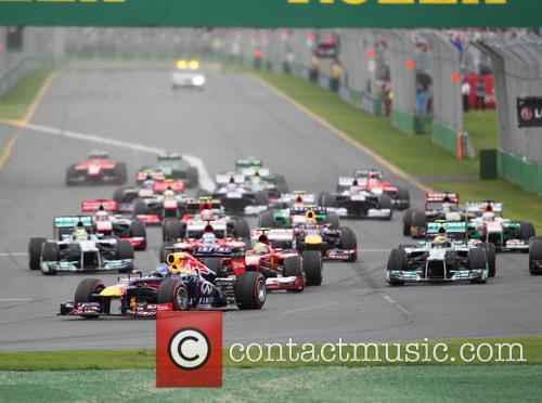 START - Sebastian VETTEL, Germany, Red Bull-Renault RB9...
