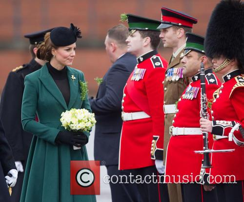 catherine duchess of cambridge st patricks day military 3560010
