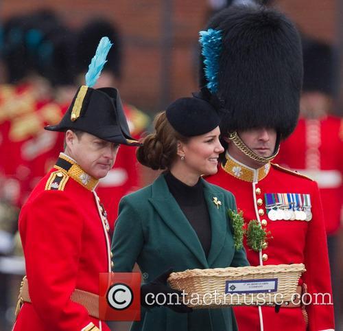 catherine duchess of cambridge st patricks day military 3560011