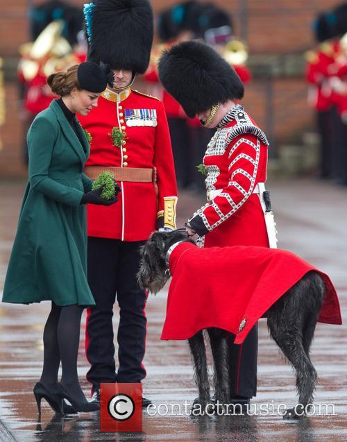 catherine duchess of cambridge st patricks day military 3560015