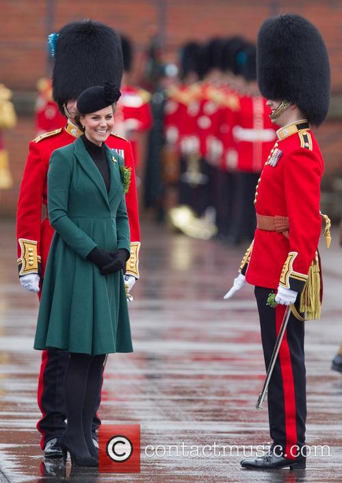 catherine duchess of cambridge st patricks day military 3560025