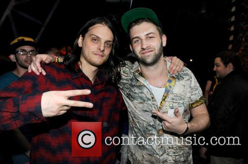 Hooks and DC of Zeds Dead at Ultra Music Festival, Miami
