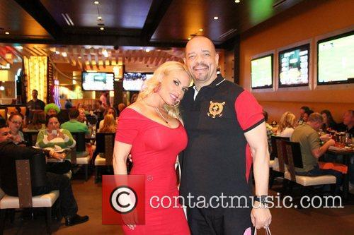 Coco Austin surprise birthday party at BurGR in...