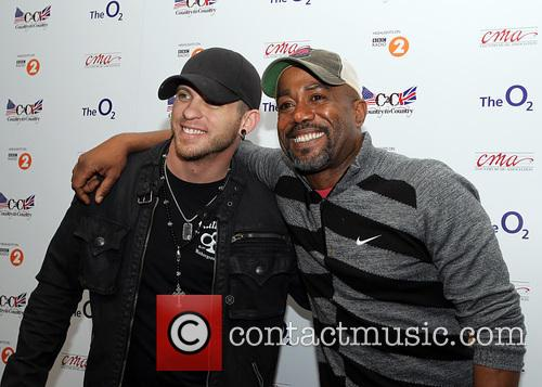 Darius Rucker and Brantley Gilbert 1