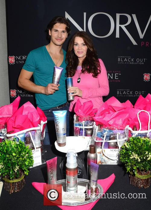 Gleb Savchenko and Lisa Vanderpump 3