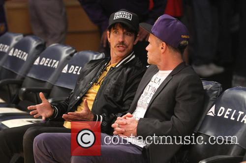 Anthony Kiedis and Flea 2