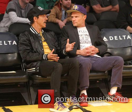 Anthony Kiedis and Flea 1